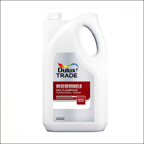 Смывка фугницидная Dulux Weathershield Multy-Surface Fungicidal Wash (Прозрачный)