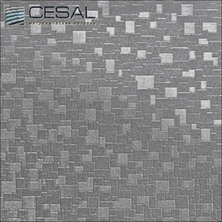 Потолок Cesal Urban Color Мозаика металлик В32